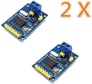 AptoFun Can-Bus Shield MCP2515 with TJA1050 Receiver SPI Protocol for Arduino SCM 51 MCU Arm Controller Development Board (2 uds.)