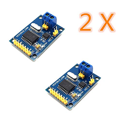 AptoFun CAN-Bus Shield MCP2515 mit TJA1050 Receiver SPI Protocol für Arduino SCM 51 MCU ARM Controller Development Board (2 pcs)