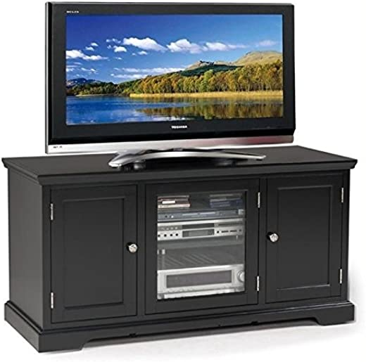 TV & Media Furniture ✅BOWERY HILL 50″ TV Stand in Black