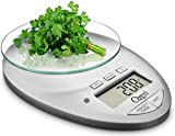 Ozeri Pro II Digital Kitchen Scale with Removable Glass Platform and Countdown Kitchen
