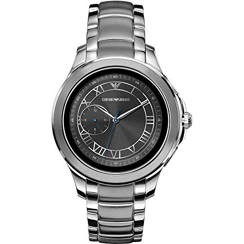 Emporio Armani Smartwatch Uomo con Cinturino in Acciaio Inox ART5010