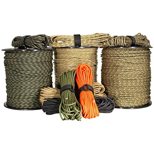 Why Choose West Coast Paracord Ultimate Wilderness Survival Cord – Olive Drab, 1000 Feet – 11 Lines in 1