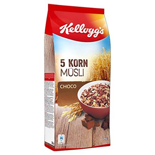 Kellogg's  5-Korn Müsli Choco, 1er Pack (1 x 2 kg)