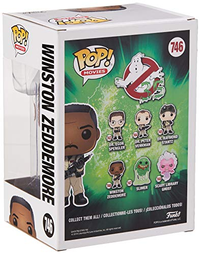 Figurines Pop! Vinyl: Movies: Ghostbusters: Winston Zeddemore
