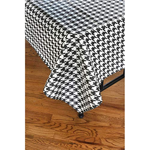 Houndstooth Paper Table Cover (54