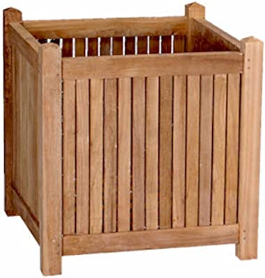 "Anderson Teak Planter Box, 22"""