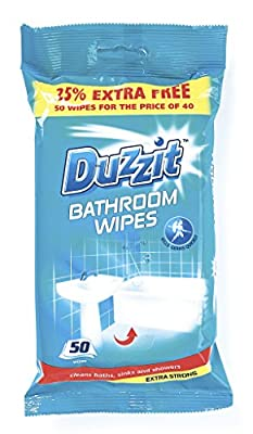 Duzzit 525410-SX Bathroom Wipes-Pack of 50 from Duzzit