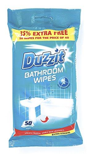 Duzzit-Salviette bagno, confezione da 50