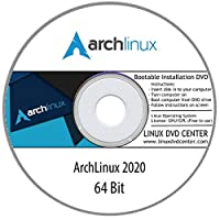 Arch Linux 2020 (64Bit) - Bootable Linux Installation DVD