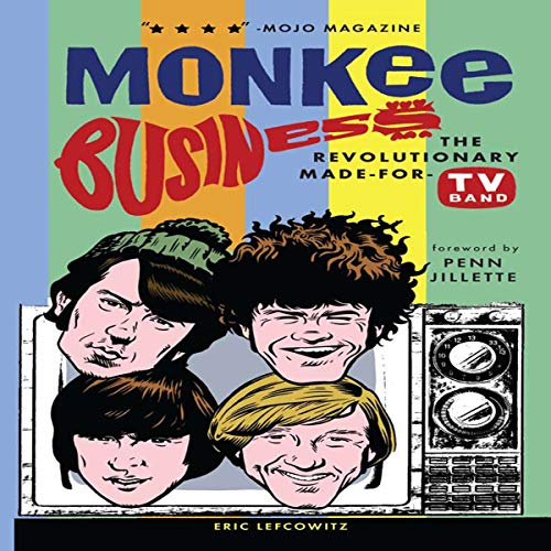 Monkee Business audiobook cover art