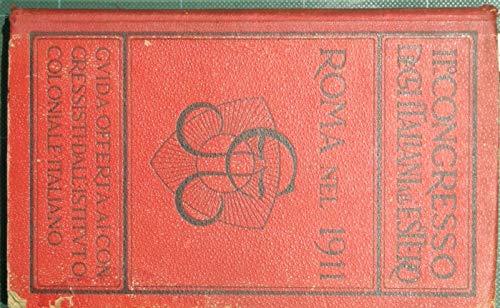 Roma nel 1911 : Guida ufficiale della città e dintorni con accenni all'Esposizione