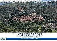 Frankreichs schoenste Doerfer - Castelnou (Tischkalender 2022 DIN A5 quer): Rundgang durch eins der schoensten Doerfer Frankreichs (Monatskalender, 14 Seiten )