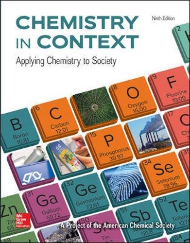 Compare Textbook Prices for Chemistry in Context 9 Edition ISBN 9781259638145 by American Chemical Society
