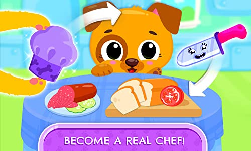 『Cute & Tiny Sandwiches - Quick Lunch For Baby Pets』の3枚目の画像