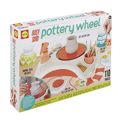 Alex Artist Studio Easy Spin Pottery Wheel Kids Art and Craft Activity