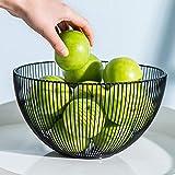 Cesta para frutas, verduras, huevos, pan, soporte para mesa de cocina, armario y...