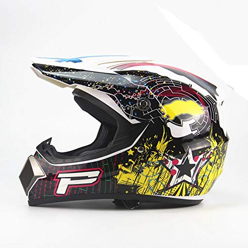 LOLIVEVE 4 seizoenen Cross-Country Helm Motocross Helm Mountainbike Full-Face Helm Downhill Ghost Claw Multi-Color Helm