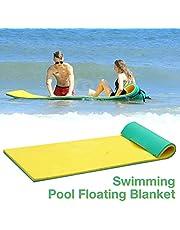 Dequate Hamak wodny – łóżko pływające dla dorosłych, 170 x 55 cm, mata do pływania na basenie, do leżenia wodnego, do pływania, do opalania, na placu zabaw dla dzieci, do sportów wodnych itp
