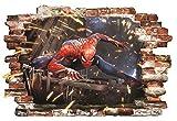 Spiderman Wandaufkleber für Schlafzimmer Wandbild