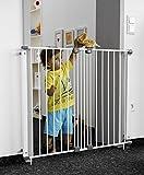 Geuther - Treppenschutzgitter Purelock aus Metall für Kinder/Hunde, Befestigung mit...