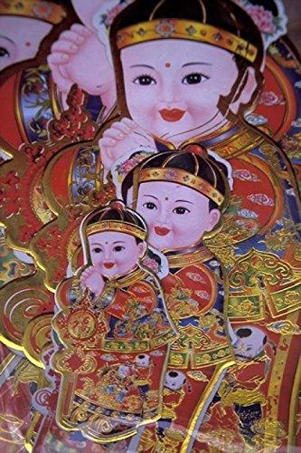 Keren Su / DanitaDelimont – Chinese New Year Poster China Photo Print (30,48 x 43,18 cm)