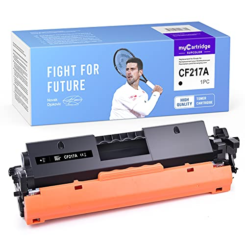 myCartridge SUPCOLOR CF217A Toner compatible para HP 17A CF217A para HP Laserjet Pro M130fw M102W M102A M130fn M130nw M130a MFP-M130fw M130nw M130a M130fn Impresora (Negro)