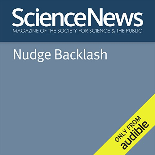 Nudge Backlash audiobook cover art