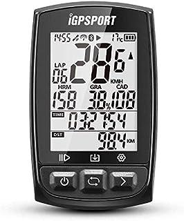 iGPSPORT IGS50E GPS pour vélo avec enregistreur de données et routes/écran de 2,2'' antireflet/capteurs ANT+/Bluetooth/ind...