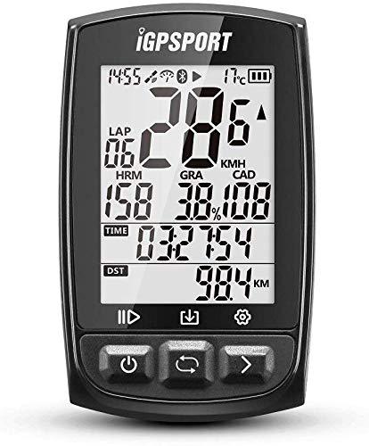 iGPSPORT iGS50E (Europese versie) - cyclus computer GPS fietsen. quantor opname van gegevens en routes. Display 2.2 reflectiearmen. Bluetooth-verbinding Ant +/2,4 G. IPX7.