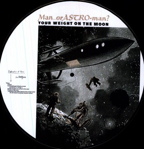 Your Weight on the Moon:Pictur [Vinilo]