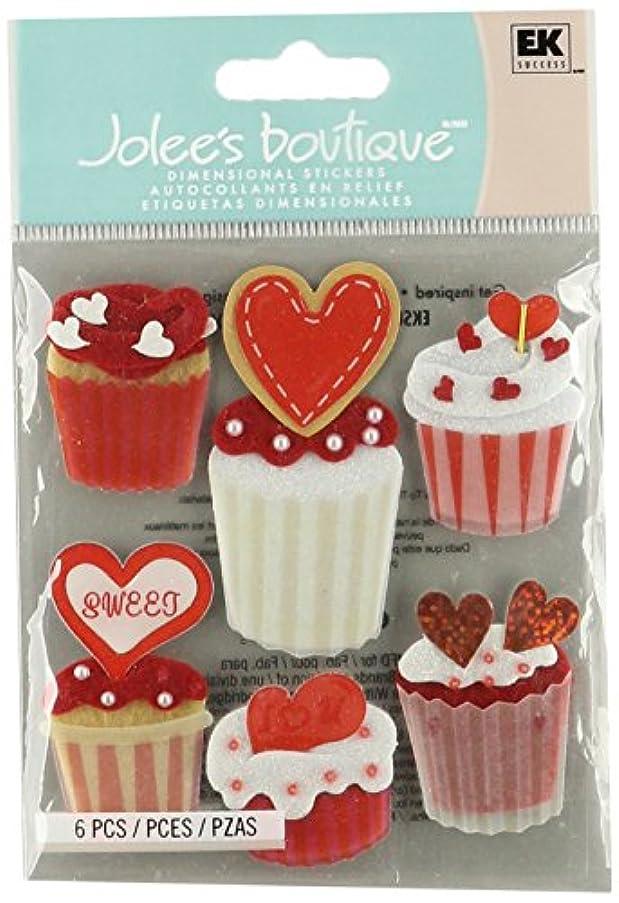Jolee's Boutique EK Success Cupcakes Dimensional Embellishments