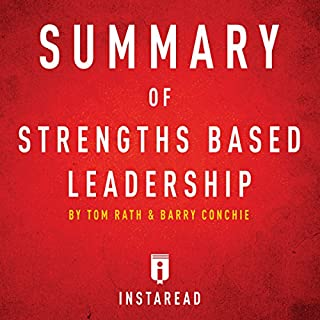 Summary of Strengths Based Leadership by Tom Rath and Barry Conchie Includes Analysis audiobook cover art