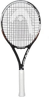 HEAD YouTex Innegra IG HEAT S30 Graphite Tennis Racquet and Case 4 3/8 Grip,Size: L/XL