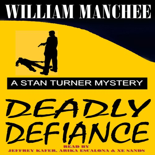Deadly Defiance audiobook cover art