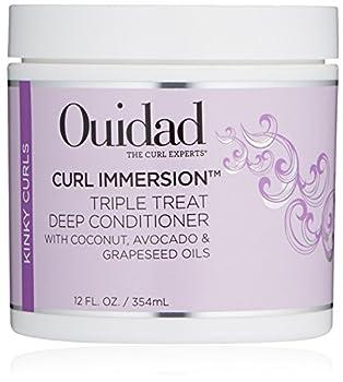 OUIDAD Curl Immersion Triple Treat Deep Conditioner 12 Fl oz