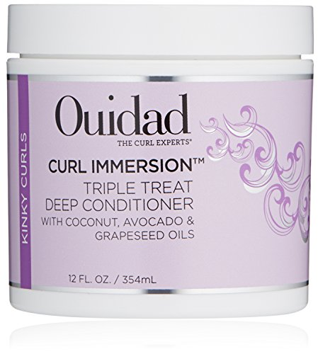 OUIDAD Curl Immersion Triple Treat Deep Conditioner, 12 Fl Oz