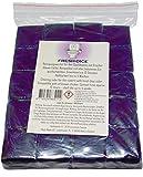 20 Stück Chlor freie reinigende Klosteine für Spülkasten Wasserkastenwürfel für den Toiletten Spükasten Violett WC für Einwurfschächte