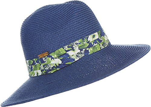 Caribbean Joe Accessories Figi Breeze Hat (One Size - Blue)