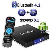 Leelbox TV Box Q2 Pro Android TV 8.1 Cuatro núcleos 2GB RAM + 16GB...