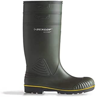 Dunlop Bottes en caoutchouc Acifort EN 20347 : 2012.O4.FO 49/50 Vert