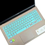 LEZE - Keyboard Cover Compatible with 15.6' ASUS VivoBook S15 S530UA S530UN S512, VivoBook F512 F512DA F512FA, X512 X509 X509FA Laptop - Mint