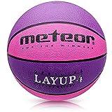 meteor Balón Baloncesto Talla 4 Pelota Basketball Bebe Ball Infantil Niño Balon Basquet -...