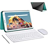 Tablet 8.0 Pollici con Wifi Offerte 3GB RAM 32GB/128GB Espandibili Android 10.0 Certificato Google GMS 1.6Ghz Tablet PC 5000mAh Tablet in Offerta 5MP Fotocamera Tablet Android Bluetooth(Verde)