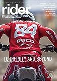 rider (ライダー) Vol.30 [雑誌] (オートバイ2020年7月号臨時増刊)