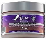The Mane Choice Mane choice peach black tea vitamin infused anti-shedding & intense volume therapy mask, 12 Ounce