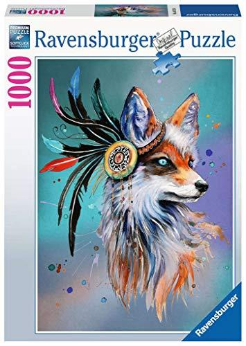 Ravensburger, Puzzle 1000 Pezzi, Lo spirito della Volpe, Collezione Fantasy, Puzzle per Adulti, Stampa di Qualità, 16725 8