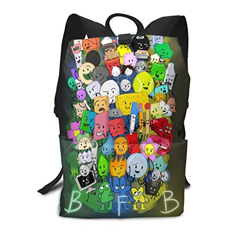 Battle For Bfdi Backpack Students Bookbags Durable Lightweight Daypacks 17 Inch Rucksack For Students Or Adults