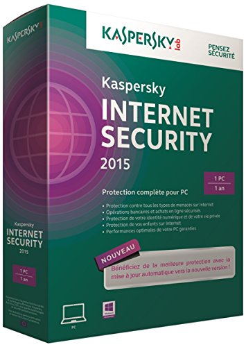 Kaspersky internet security 2015 (1 poste, 1 an)
