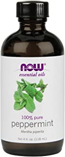 NOW Foods Peppermint Oil (Liquid), 4 oz