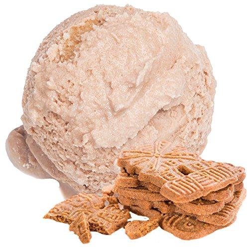 Spekulatius Geschmack 1 Kg Gino Gelati Eispulver Softeispulver für Ihre Eismaschine